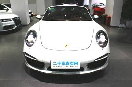 上海二手保时捷911 2012 款 Turbo Cabriolet