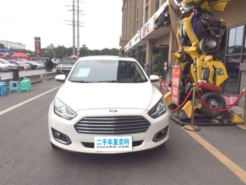8万左右紧凑SUV二手车推荐-福特福睿斯