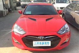 上海二手现代 劳恩斯coupe(