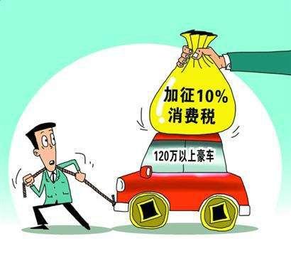 """他想买台兰博基尼,要多交20万元税""""豪车税""""让二手豪车"""