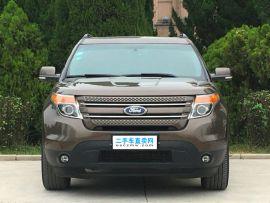 福特探险者 2013款 3.5L 自动 尊享型