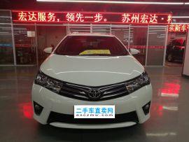 苏州二手丰田 卡罗拉 2017款