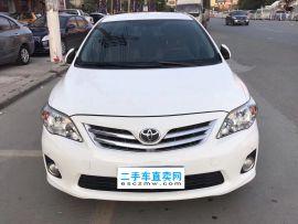 潮州二手丰田 卡罗拉 2014款 1.6L GLX-i 导航版 CVT