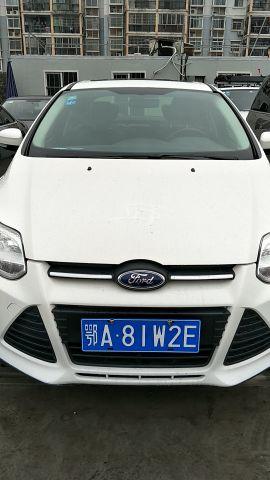 武汉二手福特 福克斯三厢 2012款 1.6L 自动 尊贵型
