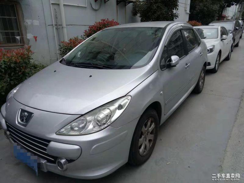 上海二手标致307三厢 2010款1.6L手动舒适版价格3.00万元