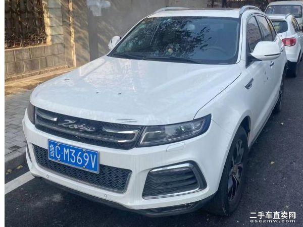 淄博二手众泰T600 2016款2.0T自动旗舰型价格6.50万元