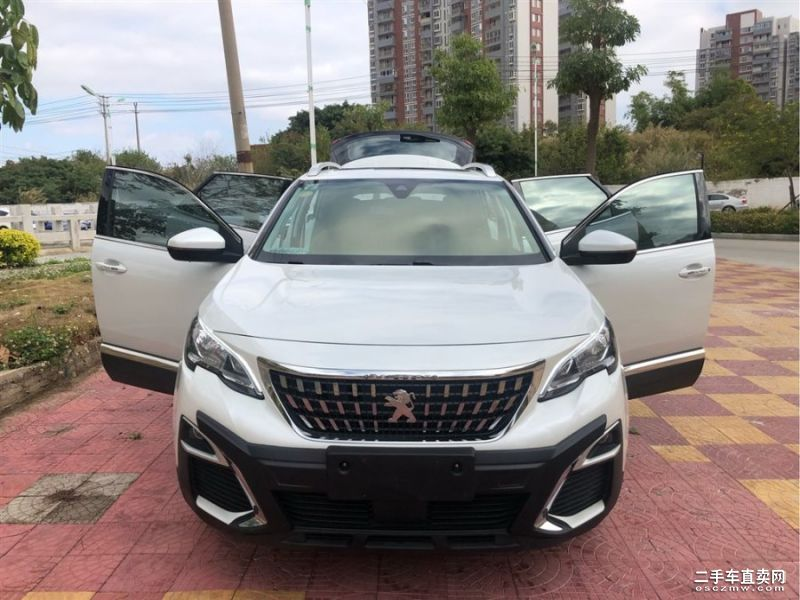 上海二手标致4008 2018款380THP豪华版GT价格22.00万元
